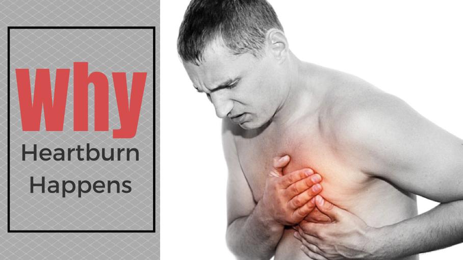 Why Heartburn Happens
