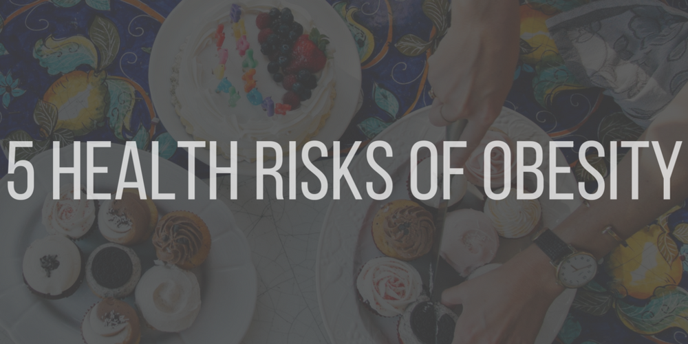 5 health risks of obesity