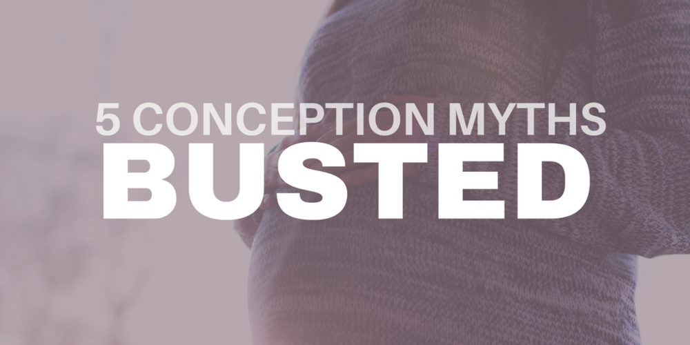 5 conception myths busted