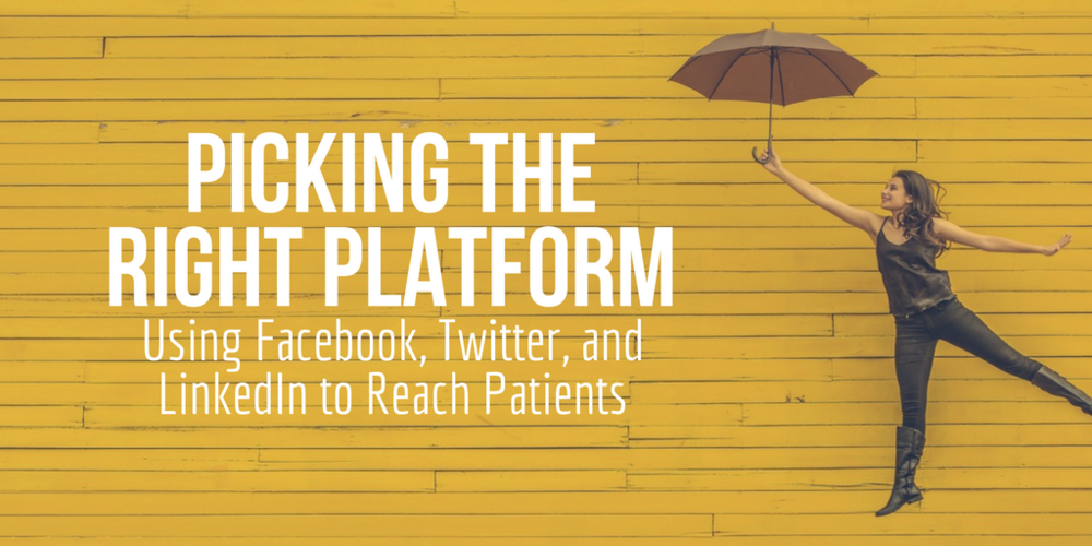 healthcare marketing, facebook marketing, twitter marketing, linkedin marketing