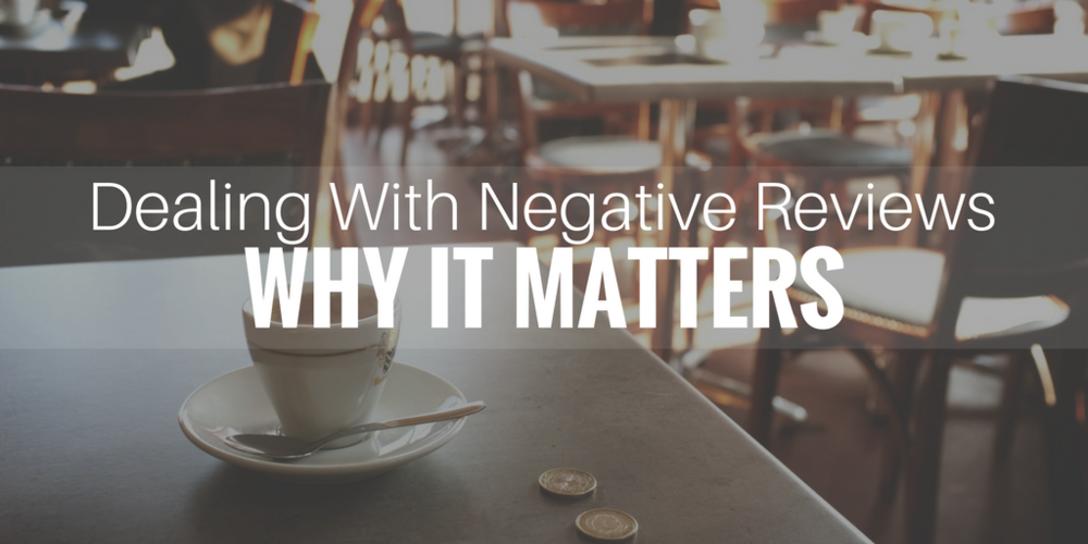 healthcare marketing, dealing with negative reviews why it matters