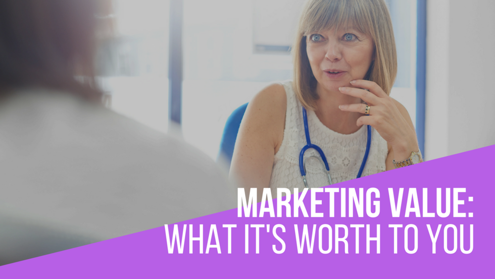 the value of healthcare marketing services