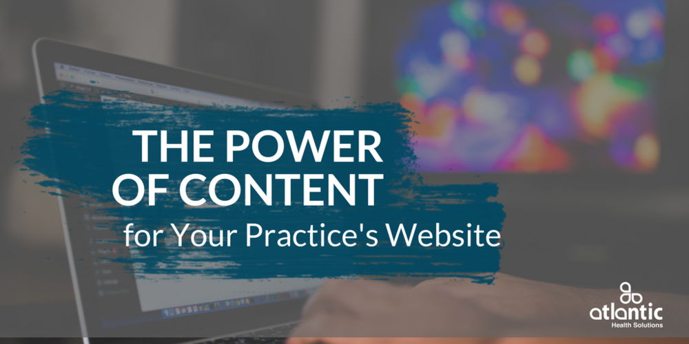 the power of content marketing for your healthcare practice