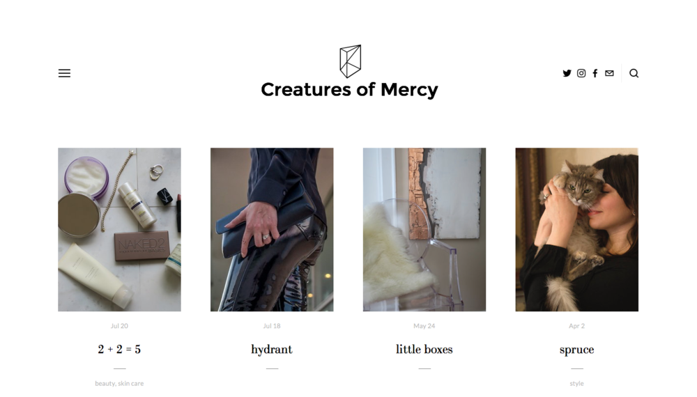 Creatures of Mercy