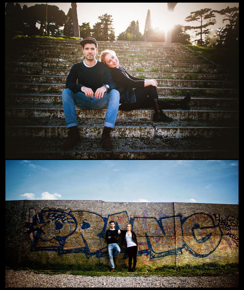 Emily Wilson Photography Rome Urban styled couples portraits