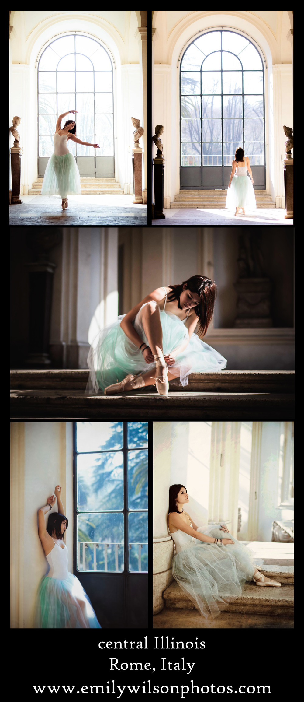 Emily Wilson Photography Rome ballerina