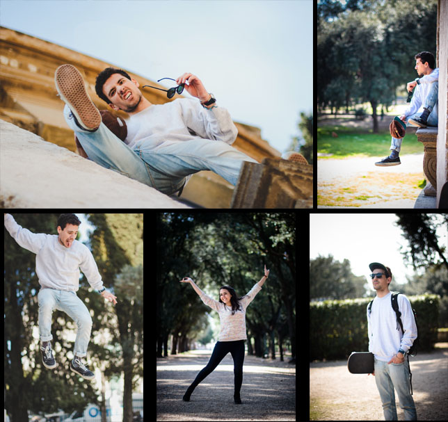 Emily Wilson Photography Rome Portrait Pose outtakes