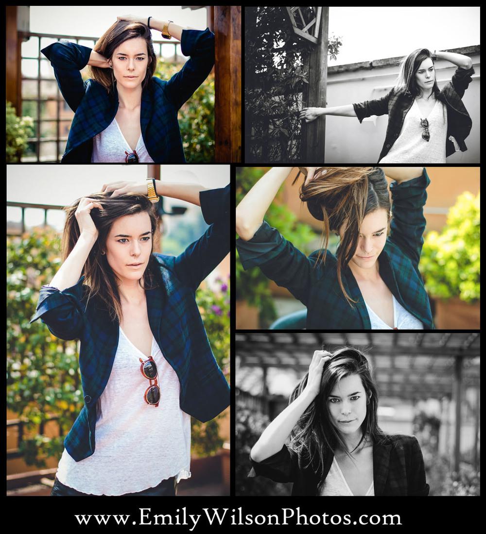 Female poses, Emily Wilson Photography, Abju Abigail, Rome