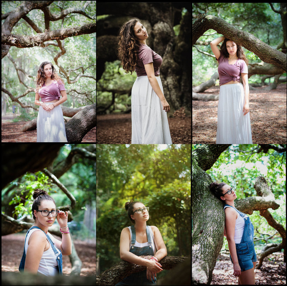 Emily Wilson Photography Angel Oak South Carolina portrait