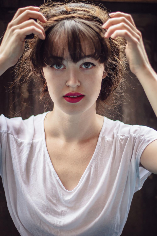 Self portrait Emily Wilson Photography