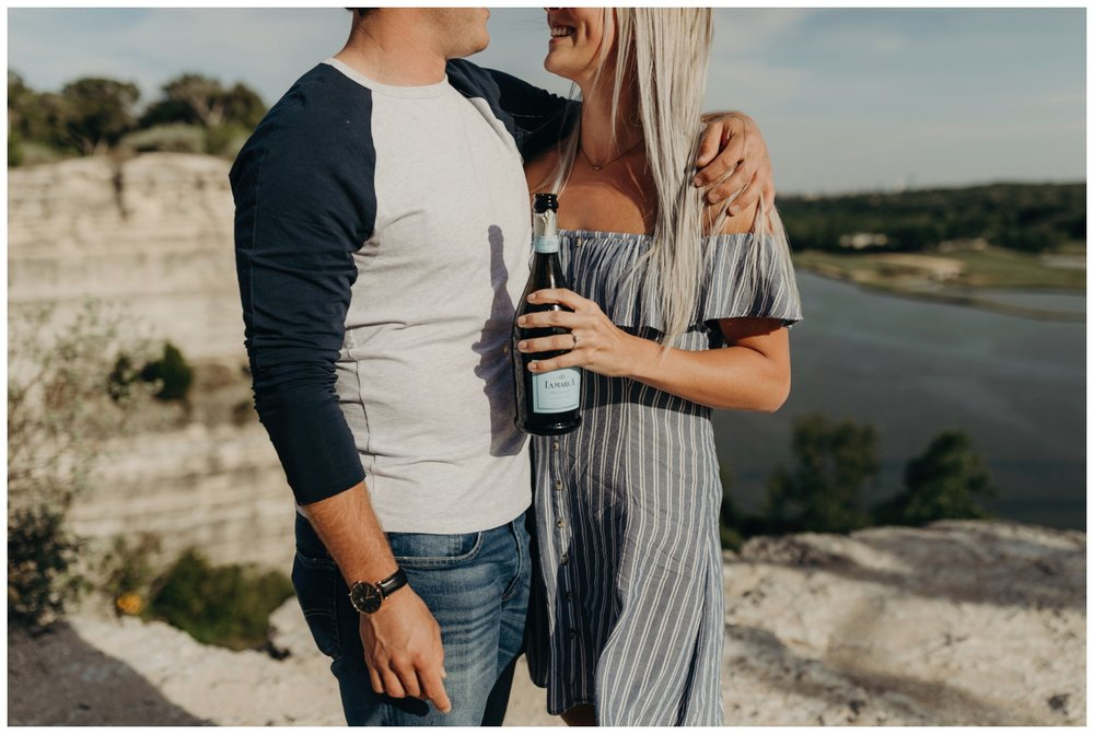 Proposal at Pennybacker Bridge