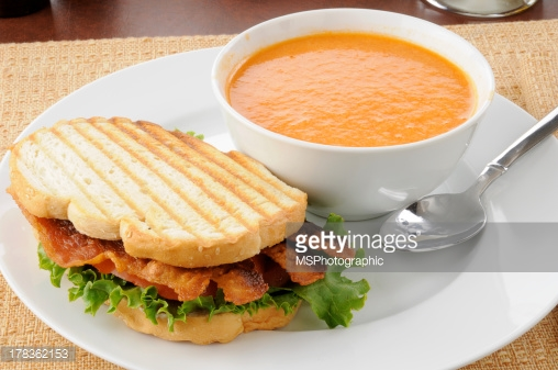 Food Theme will be : Soups and Sandwiches  Please bring either a soup or some sandwich items to share. :)