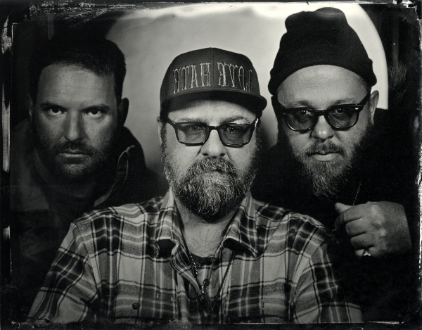 Steve, Greg and Chad tintype by Jen Jansen