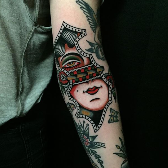Nate HudakCrying heart tattoo, ohGLTSept 4-5 -