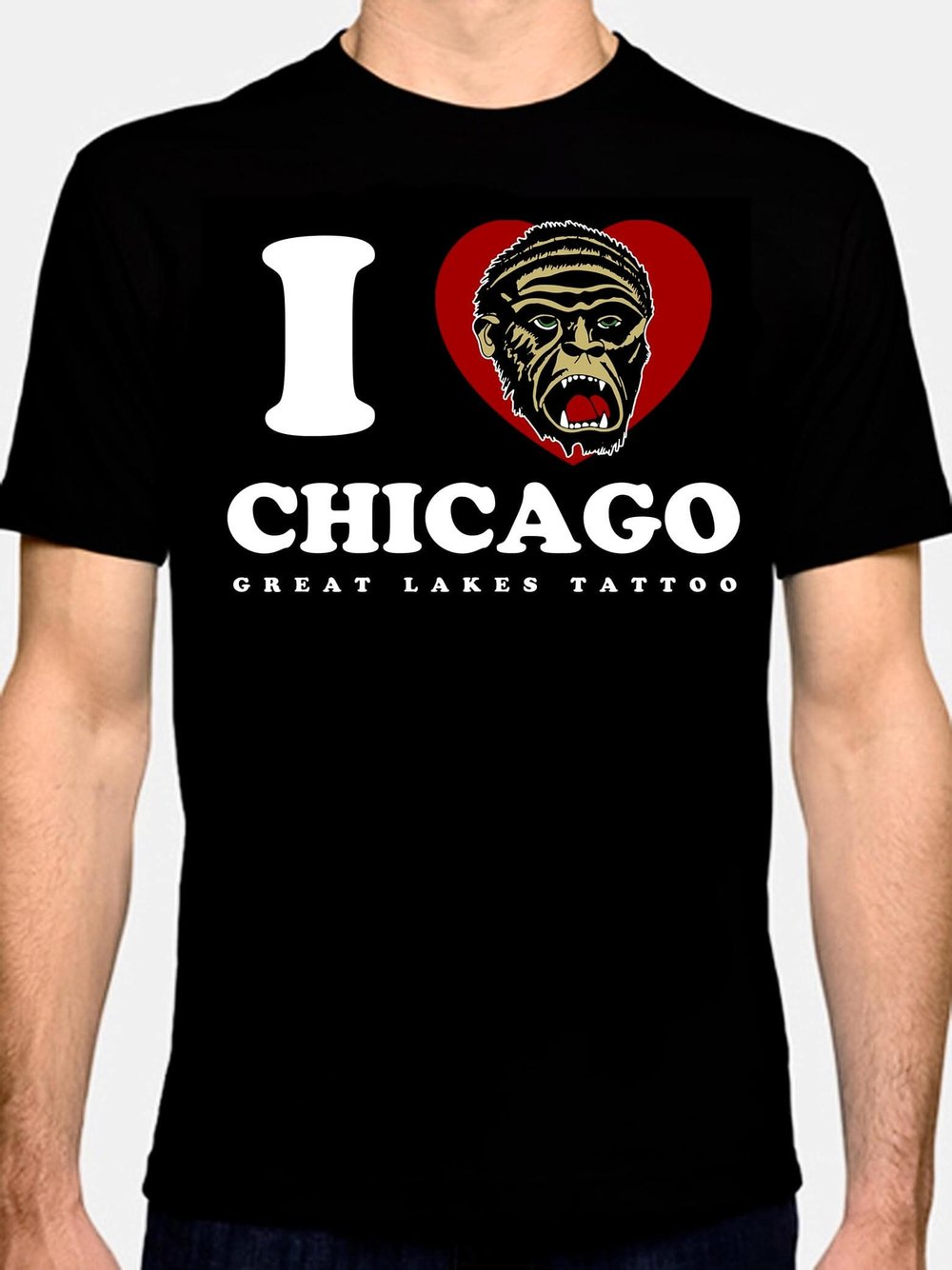 - NEW! GLT I heart Chicagorilla / Chicago shirts COMING SOON! Six color front print on black NextLevel premium tee. Pre-order available now in our web-store.