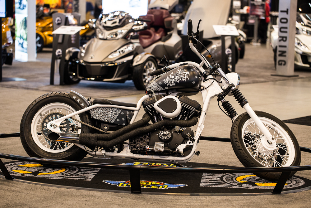 International Motorcycle Show - Bandana Bike by W.T. Customs and CG Customs