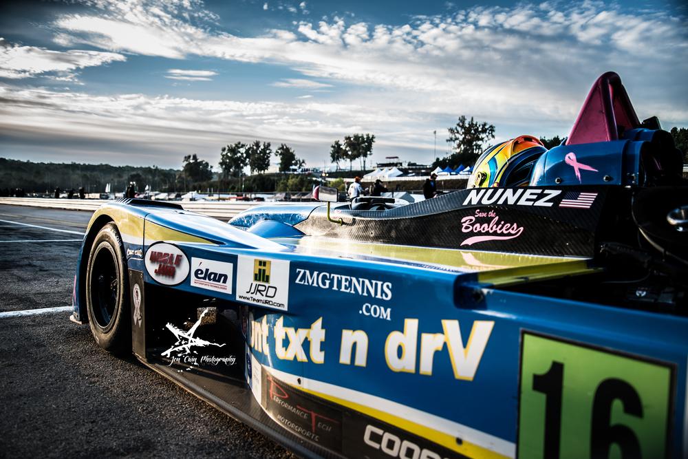 Tristan Nunez at Petit Le Mans