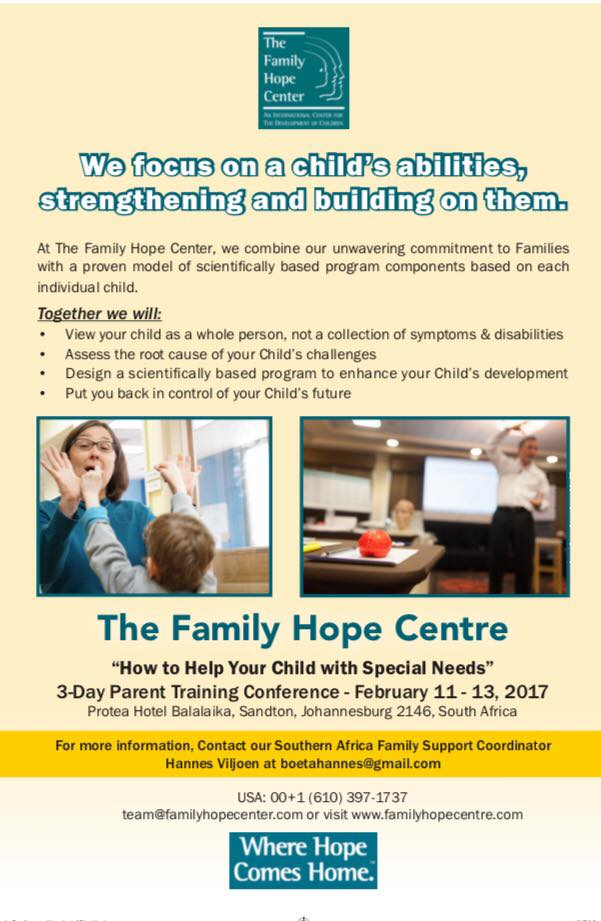 Parent Training Conference