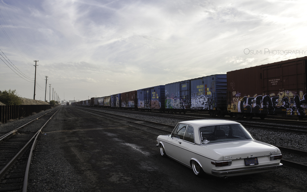 The location we decided to photograph at was a functioning rail car storage facility.