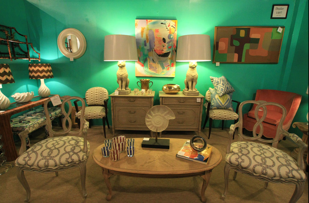 Mid-century + Lily Green