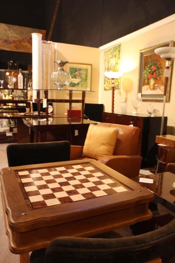 Italian Game Table: Hiden Galleries