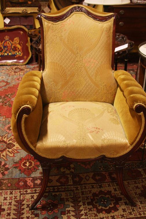Hiden Galleries: Empire chair (a pair)