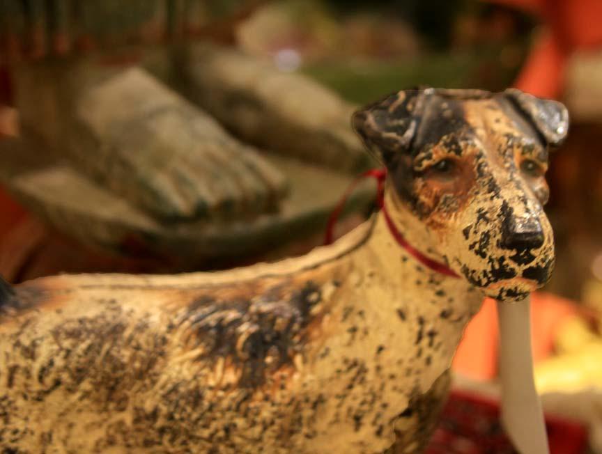 Hiden Galleries: cast terrier doorstop