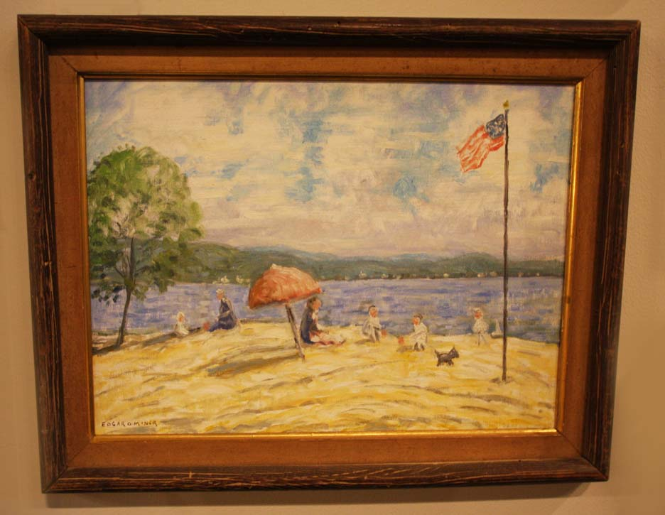 Hiden Galleries: Edgar O. Miner beach scene