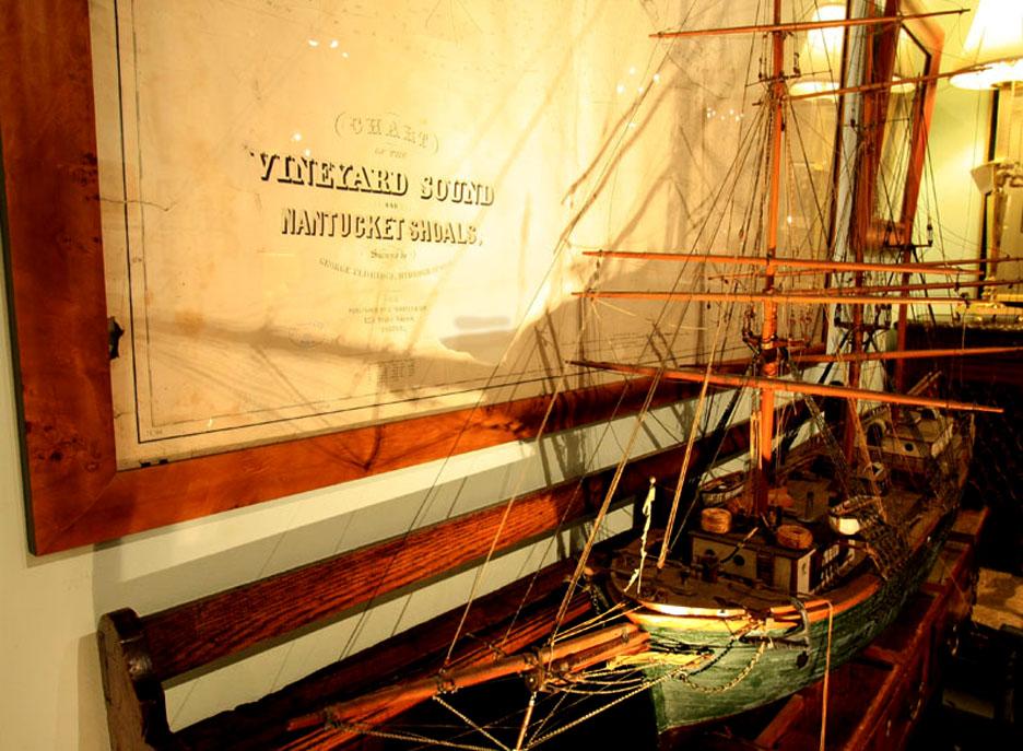 Hiden Galleries: 1884 chart of Vineyard Sound & Nantucket Shoals