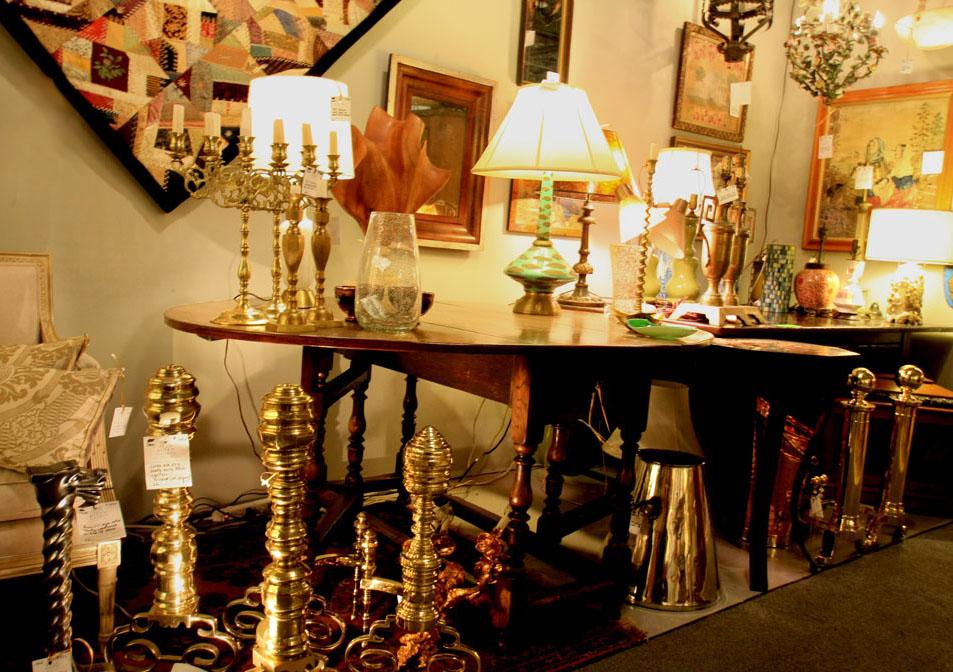 Hiden Galleries: antique andirons