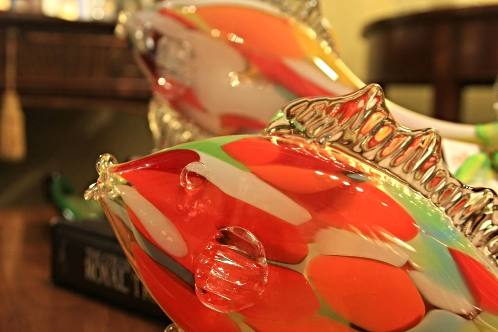 Hiden Galleries: Murano glass fish