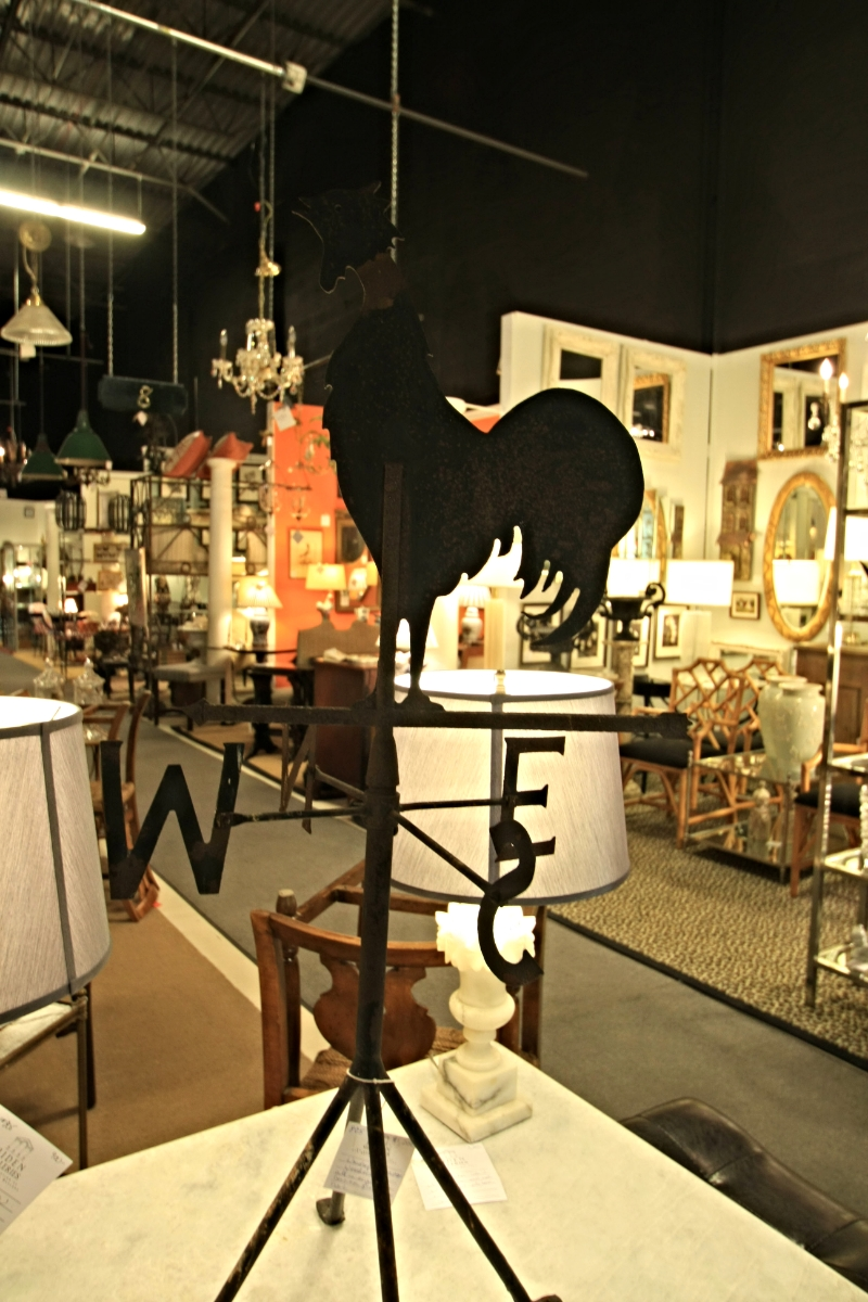 Weathervane on stand