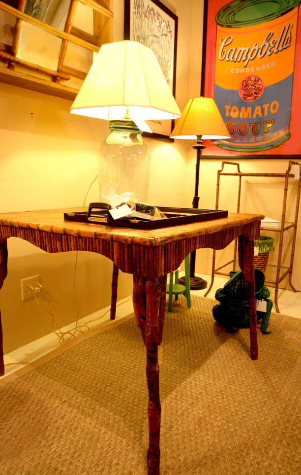 Hiden Galleries: Adirondack table