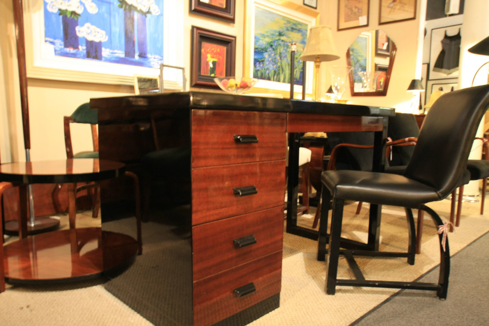 Hiden Galleries: Art Deco desk