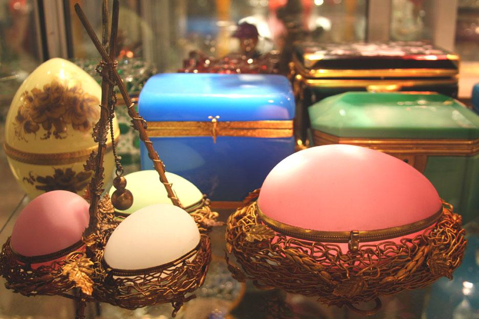 Opaline eggs
