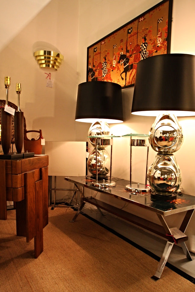 Hiden Galleries: 1970s mercury glass lamps