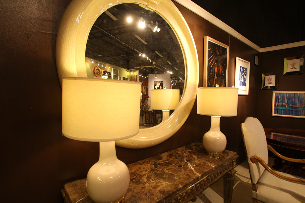 """Hiden Galleries: mirror from the set of """"The Wolf of Wall Street"""""""