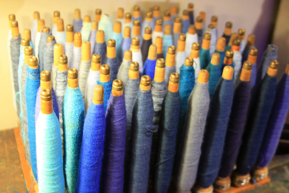 Hiden Galleries: blue spools