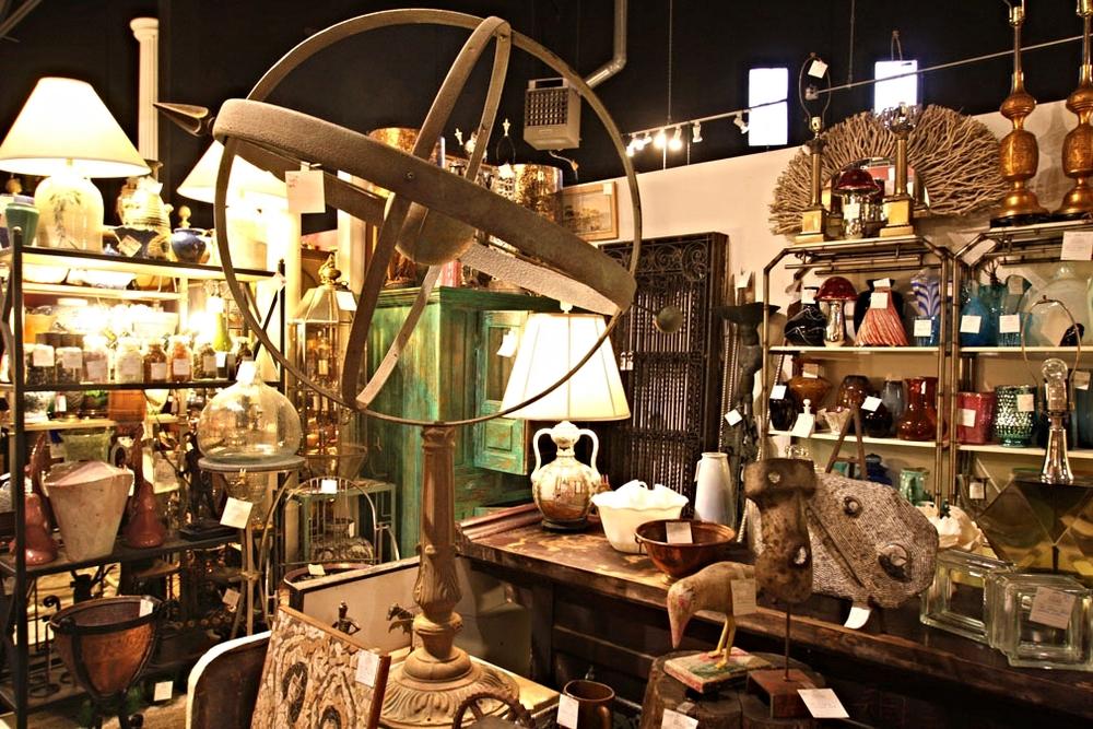 Hiden Galleries: large iron armillary