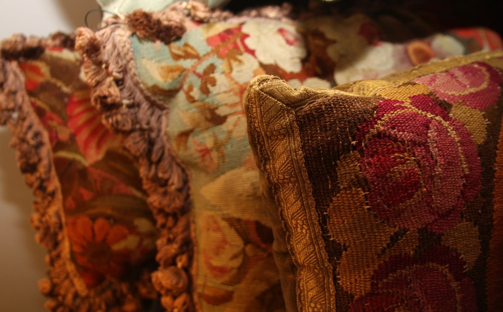 Hiden Galleries: Aubusson cushions