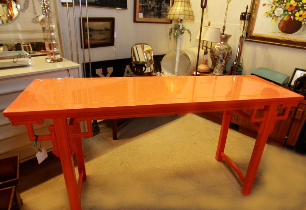 Hiden Galleries: hi-lacquer Asian altar table