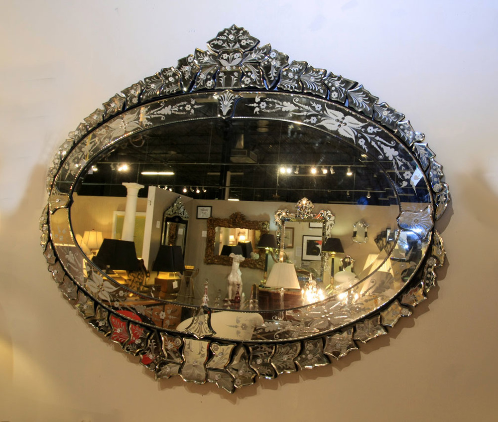 Hiden Galleries: large Victorian mirror