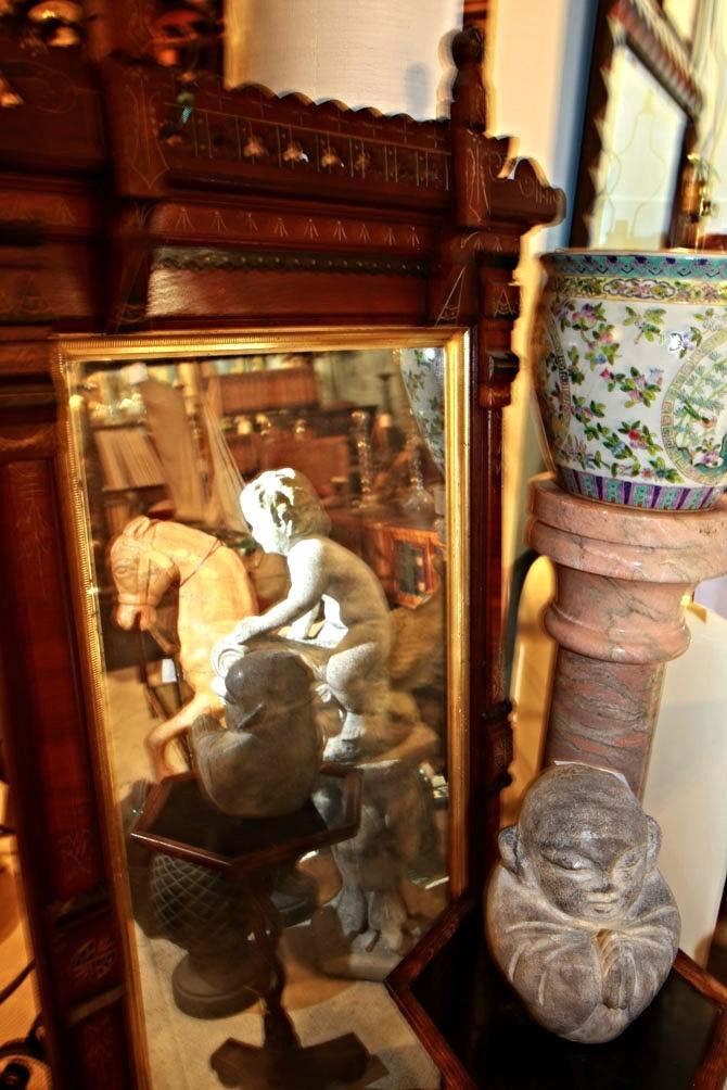 Hiden Galleries: Victorian mirror