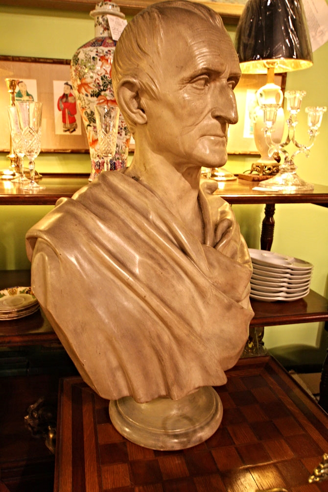 Hiden Galleries: 19th-century bust by J C King