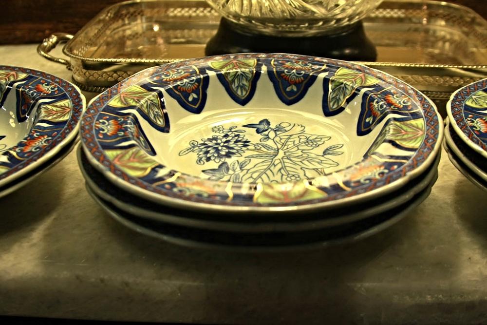 Hiden Galleries: 1800s Copeland Spode bowls