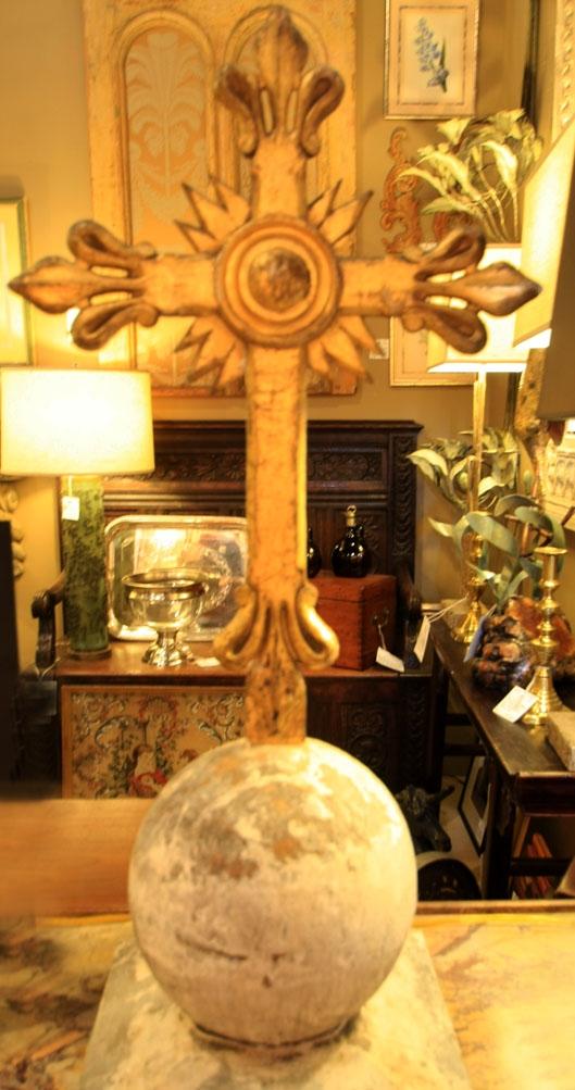 Hiden Galleries: c1780-1790 Italian chapel cross