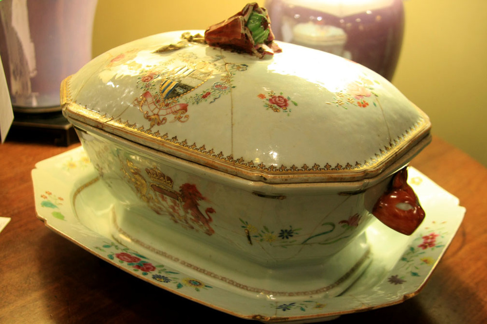Hiden Galleries: 18th-century Chinese export tureen