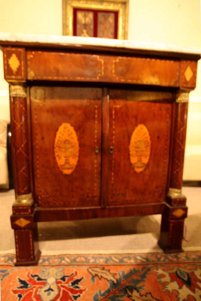Hiden Galleries: old Dutch chest, c1880