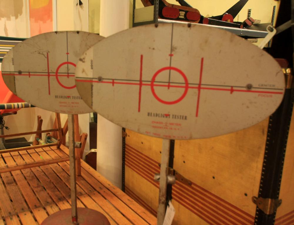 Hiden Galleries: pair of 1930s headlamp testers