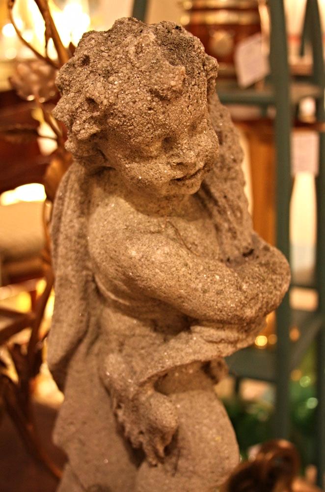 Hiden Galleries: 1930s garden statue
